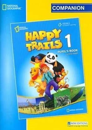 Εικόνα της Happy Trails 1 Companion Answer key