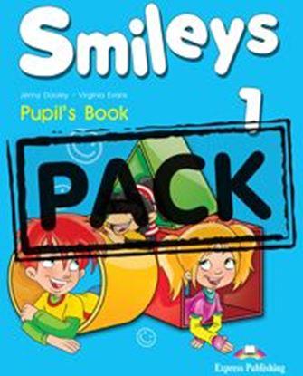 Εικόνα της SMILEYS 1 PUPIL'S PACK (GREECE) (Pupil _s Book, Let_s Celebrate 1,  Pupil_s Multi-Rom 1, My first ABC,