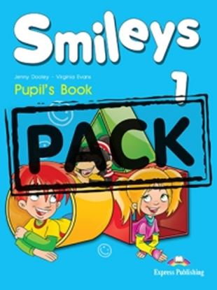 Εικόνα της SMILEYS 1 POWER PACK (GREECE) (S'S, LETS' CELEBRATE 1,MULTI-ROM 1, MY FIRST ABC,IE-BOOK,ACTIVITY BOO