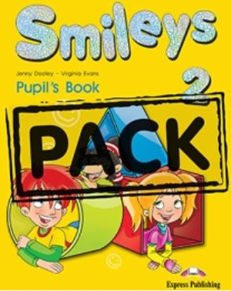 Εικόνα της SMILEYS 2  POWER PACK (GREECE) (S'S, L ETS' CELEBRATE 2,MULTI-ROM 1, MY FIRST ABC,IE-BOOK,ACTIVITY BOO