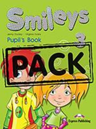 Εικόνα της SMILEYS 3 POWER PACK (GREECE) (S'S, LE TS' CELEBRATE 3,MULTI-ROM 1, MY ALPHABET BOOK,IE-BOOK,ACTIVITY