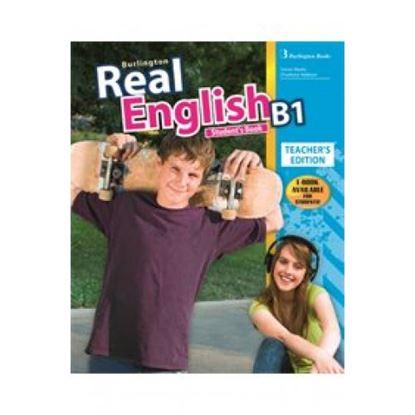 Εικόνα της REAL ENGLISH B1 TCHR'S