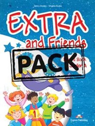 Εικόνα της EXTRA & FRIENDS JUNIOR a POWER PACK (PUPIL'S,ALPHABET BOOK,MULTI -ROM,ieBOOK,VOC. & GRAMMAR, ACTIVITY,