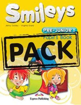Εικόνα της Smileys Pre-Junior Pupil's Pack  ( Pup il's Book+ My first ABC + Let_s celebrate 1 + P's Multi-Rom + i