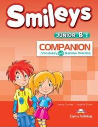 Εικόνα της SMILEYS JUNIOR B COMPANION (VOCABULARY AND GRAMMAR PRACTICE) (GR EECE)