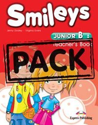 Εικόνα της SMILEYS JUNIOR b TEACHER'S BOOK (Inter leaved with POSTERS set of 9 & Let's celebrate 4)