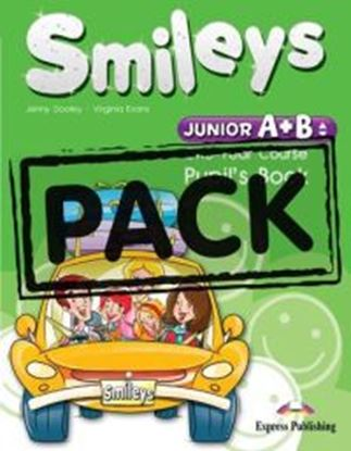 Εικόνα της Smileys Junior A+B POWER PACK ( Pupil's Book + Let's celebrate 3 & 4 + My alphabet + P's CD, DVD PAL