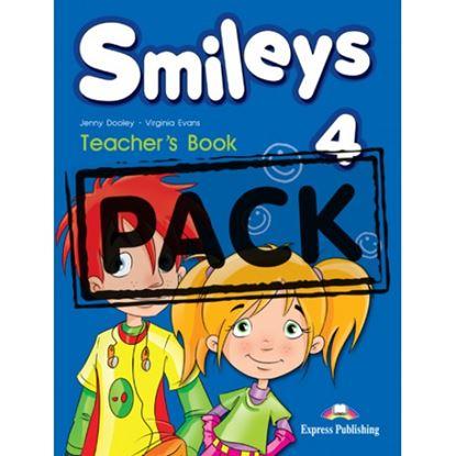 Εικόνα της SMILEYS 4 TEACHER'S (Interleaved withPOSTERS set of 9 & Let's ce lebrate 4)