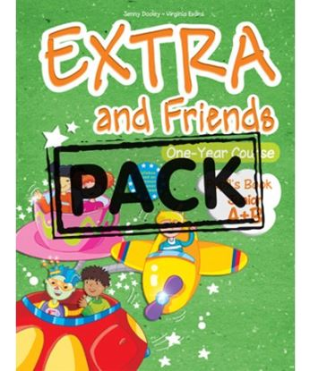 Εικόνα της EXTRA & FRIENDS JUNIOR ONE YEAR COURSE POWER PACK (P'S,ALPHABET BOOK (978-1-84974-668-7),DVD,ieBOOK,V