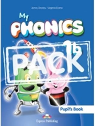 Εικόνα της MY PHONICS 1b STUDENT'S PACK WITH CROSS-PLATFORM APPLICATION