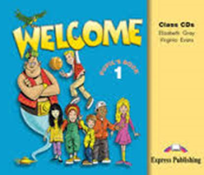 Εικόνα της WELCOME 1 CLASS AUDIO CDs (SET OF 3)