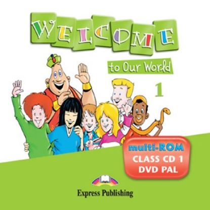 Εικόνα της WELCOME TO OUR WORLD 1 DVD PAL AND PUP ILS CD (GREECE)