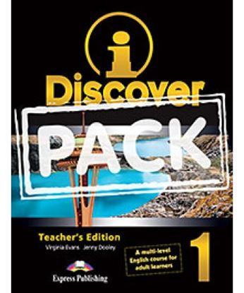 Εικόνα της i-DISCOVER 1 TEACHER'S PACK (ADULT LEARNERS) (S'S BOOK & WORKBOO K WITH ie-book,T'S&IWB) (GREECE)