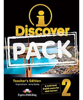 Εικόνα της i-DISCOVER 2 TEACHER'S PACK (ADULT LEARNERS) (S'S BOOK & WORKBOO K WITH ie-book,T'S&IWB) (GREECE)