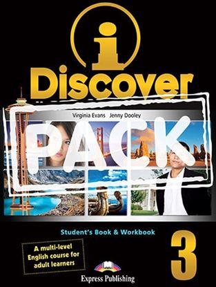 Εικόνα της i-DISCOVER 3 STUDENT'S BOOK & WORKBOOK (ADULT LEARNERS) with ie- book (GREECE)