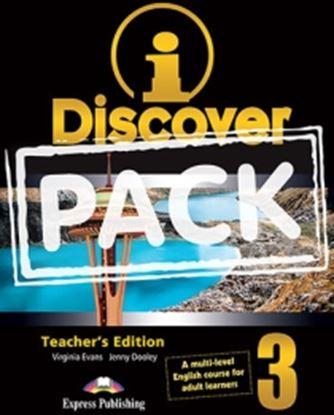 Εικόνα της i-DISCOVER 3 TEACHER'S PACK (ADULT LEARNERS) (S'S BOOK & WORKBOO K WITH ie-book,T'S&IWB) (GREECE)