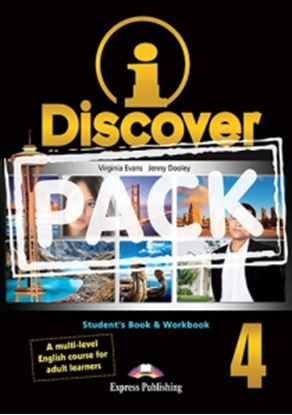 Εικόνα της i-DISCOVER 4 STUDENT'S BOOK & WORKBOOK (ADULT LEARNERS) with ie- book (GREECE)