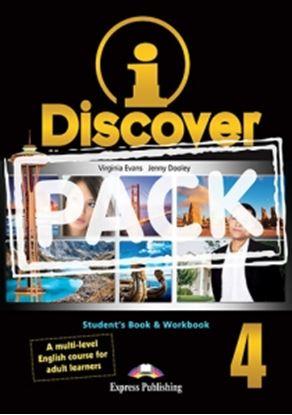 Εικόνα της i-DISCOVER 4 STUDENT'S BOOK & WORKBOOK (ADULT LEARNERS) with ie- book (GREECE)