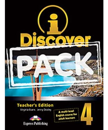 Εικόνα της i-DISCOVER 4 TEACHER'S PACK (ADULT LEARNERS) (S'S BOOK & WORKBOO K WITH ie-book, T'S&IWB) (GREECE)