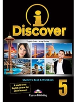 Εικόνα της i-DISCOVER 5 STUDENT'S BOOK & WORKBOOK (ADULT LEARNERS) with ie- book (GREECE)