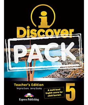 Εικόνα της i-DISCOVER 5 TEACHER'S PACK (ADULT LEARNERS)(S'S BOOK & WORKBOOK WITH ie-book,T'S&IWB)(GREECE)