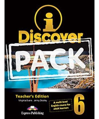 Εικόνα της i-DISCOVER 6 TEACHER'S PACK (ADULT LEARNERS) (S'S BOOK & WORKBOO K WITH ie-book,T'S&IWB) (GREECE)