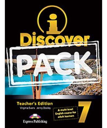 Εικόνα της i-DISCOVER 7 TEACHER'S PACK (ADULT LEA RNERS)(S'S BOOK & WORKBOOK WITH ie-book,T'S&IWB)(GREECE)