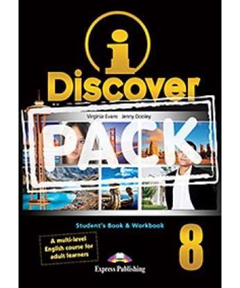 Εικόνα της i-DISCOVER 8 STUDENT'S BOOK & WORKBOOK (ADULT LEARNERS) with ie- book (GREECE)