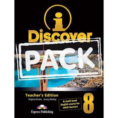 Εικόνα της i-DISCOVER 8 TEACHER'S PACK (ADULT LEARNERS)(S'S BOOK & WORKBOOK WITH ie-book,T'S&IWB)(GREECE)
