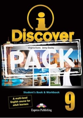 Εικόνα της i-DISCOVER 9 STUDENT'S BOOK & WORKBOOK (ADULT LEARNERS) with ie- book (GREECE)