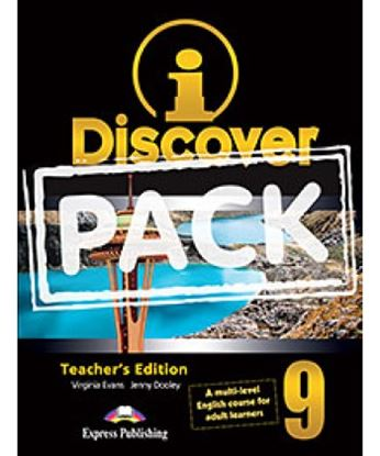 Εικόνα της i-DISCOVER 9 TEACHER'S PACK (ADULT LEARNERS)(S'S BOOK & WORKBOOK WITH ie-book,T'S&IWB)(GREECE)
