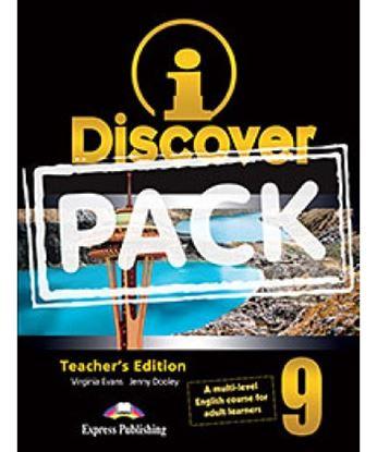 Εικόνα της i-DISCOVER 9 TEACHER'S PACK (ADULT LEARNERS)(S'S BOOK & WORKBOOK WITH ie-book,T'S&IWB)(GREECE)