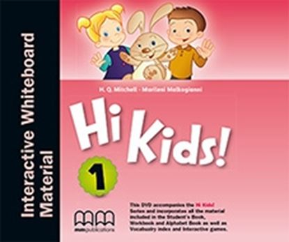 Εικόνα της DVD HI KIDS 1 Interactive Whiteboard Material PACK