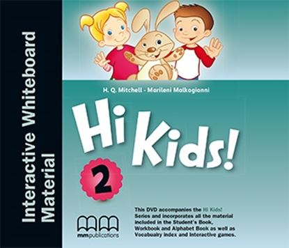 Εικόνα της DVD HI KIDS 2 Interactive Whiteboard Material PACK