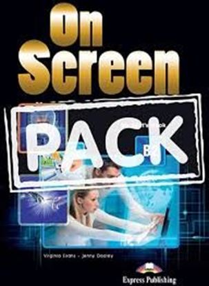 Εικόνα της ON SCREEN B2 REVISED STUDENT'S PACK 2 (S'S, Writing book, iebook, WB & Grammar, Companion, PRACTICE T