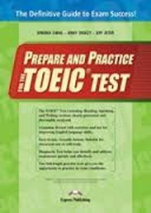 Εικόνα της PREPARE AND PRACTICE FOR THE TOEIC TESTS S'S (S'S WITH KEY AT ΤΗ Ε BACK OF THE BOOK + CD'S)