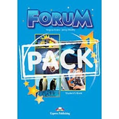 Εικόνα της FORUM 1 STUDENT'S PACK 2 (GREECE) (S'S,COMPANION,WORKBOOK,ieBOOK ) REVISED