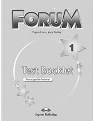Εικόνα της FORUM 1 TEST BOOKLET REVISED