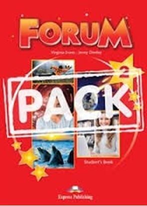 Εικόνα της FORUM 2 STUDENT'S PACK 1 (GREECE) (S'S,ieBOOK) REVISED