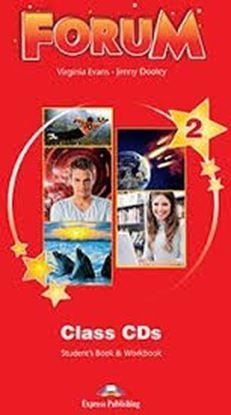 Εικόνα της FORUM 2 STUDENT'S BOOK & WORKBOOK CLASS CDs (SET OF 5) REVISED