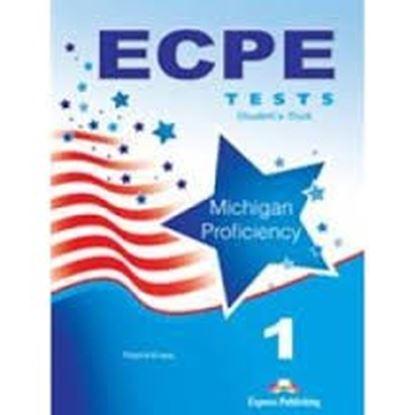 Εικόνα της ECPE 1 TESTS FOR THE MICHIGAN PROFICIENCY CLASS CDS (SET OF 5) N EW