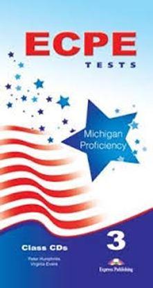 Εικόνα της ECPE TESTS FOR THE MICHIGAN PROFICIENCY 3 CLASS CDS SET OF 5