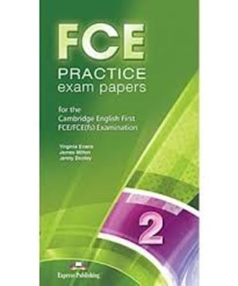 Εικόνα της FCE PRACTICE EXAM PAPERS 2 FOR THE REV ISED CAMBRIDGE ESOL FCE EXAMINATION CLASS CDs (SET OF 12) REVIS