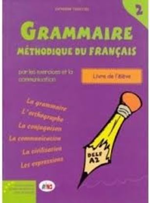 Εικόνα της GRAMMAIRE METHODIQUE DU FRANCAIS 2 DELF A2 METHODE
