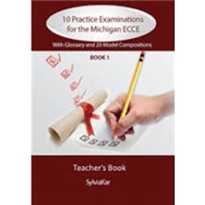 Εικόνα της 10 Practice Examinations for the Michigan ECCE - 4 CDs