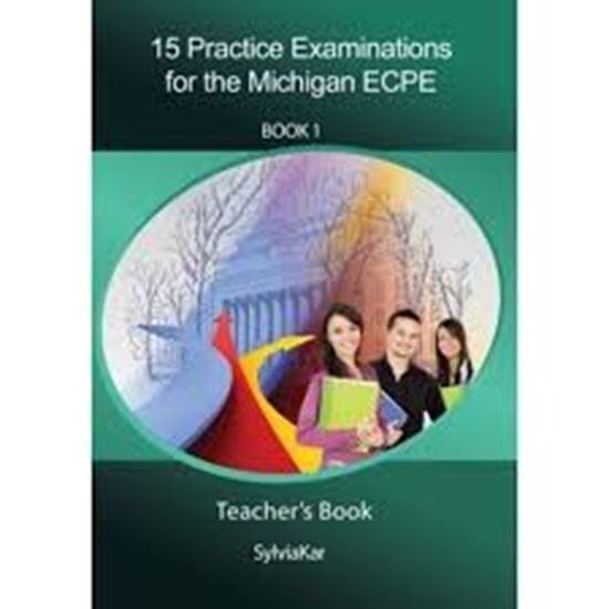Εικόνα από 15 Practice Examinations Michi Ecpe cdgan ECPE Book 1 - 5 CDs