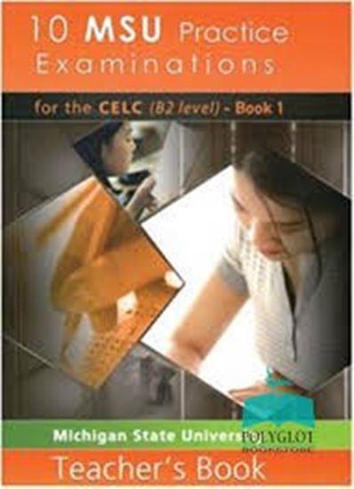 Εικόνα από 10 MSU Practice Examinations for the CELC Book 1 Teacher's Book