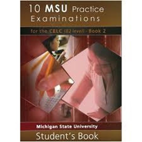Εικόνα από 10 MSU Practice Examinations for the CELC Book 2 Student's Book