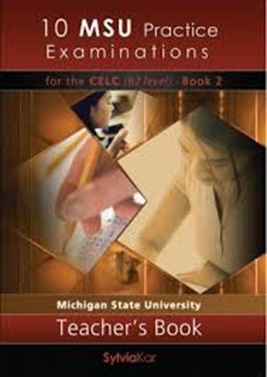 Εικόνα από 10 MSU Practice Examinations for the CELC Book 2 Teacher's Book