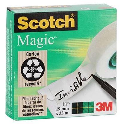 Εικόνα της ΚΟΛΛΗΤΙΚΗ ΤΑΙΝΙΑ SCOTCH MAGIC 3Μ-810 19Χ33 INVISIBLE